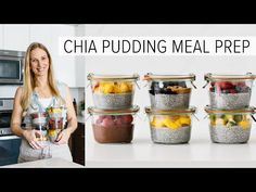 Meal prep chia pudding - you can freeze it for weeks! Chia pudding is a healthy breakfast recipe and it's even better when you can make a large batch, freeze. Healthy Breakfast Recipes, Healthy Snacks, Breakfast Ideas, Healthy Recipes, Chocolate Chia Pudding, Chocolate Mug Cakes, Chia Recipe, Meal Prep Plans, Kitchen
