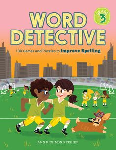 Word Detective, Grade 130 Games and Puzzles to Improve Spelling Spelling Games For Kids, Spelling Practice, Spelling Activities, Spelling Words, Word Games, Word Search Puzzles, Word Puzzles, Puzzles For Kids, Grade 2