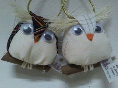 A pair of beautiful owls made by me!!!