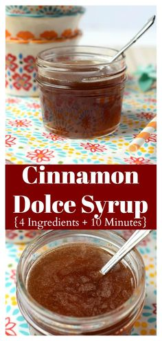 Cinnamon Dolce Syrup - Snacks and Sips