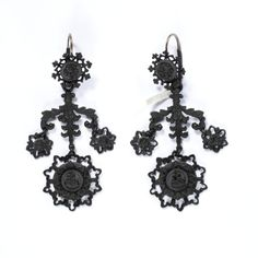 Cast-iron jewellery was an inexpensive but fashionable novelty for consumers in Europe and America from around 1800 to 1860. Developed in Germany in 1806–7 and often worn during mourning, it became the symbol of Prussian patriotism and resistance to Napoleon I in the Prussian War of Liberation fought from 1813-15. Women donated gold jewellery to their country in exchange for iron inscribed 'I gave gold for iron'.  The transformation of cast iron, a dark metal of little value, into a…