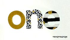 Birthday one Letters ...Fabric Iron On Letter Appliques by onceuponadesign.etsy.com
