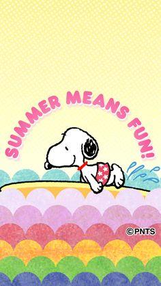 Snoopy Summer Charlie Brown Y Snoopy, Snoopy Love, Snoopy And Woodstock, Peanuts Characters, Cartoon Characters, Fictional Characters, Beagle, Snoopy Wallpaper, Joe Cool
