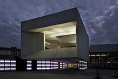 Theatre Almonte Architecture, in Huelva, Spain, by Donaire Arquitectos Studio.