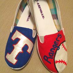 Texas Rangers Airwalk Shoes