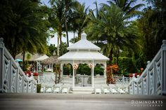 Gorgeous #outside #wedding #ceremony. Picture of a very beautiful #Chuppah by #DominoArts #Wedding #Photography (www.DominoArts.com)