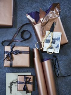 Copper Wrapping Paper .