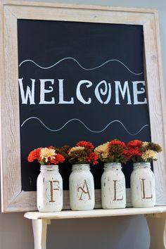 Fall Mason Jar Vases final 3