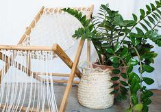 A Pair & A Spare   DIY Macramé Deck Chair