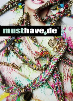 new in stock ---> hippie bracelets check it out now: http://www.musthave.de/trends/hippie-love.html
