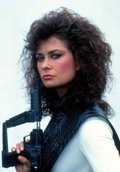 """♥ Jane Badler as Diana in """"V"""" aka """"Visitors"""" (1983 - 1985)"""