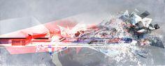 // seifersucht - Lorelei L'affeter - Train du havre - digital painting for S.Paradis