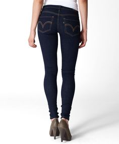 super skinny jeans by Levi's <3 $46