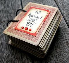 Artfull Crafts: a LOVE Deck of Cards!