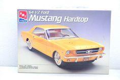 """AMT Ertl Brown Tan Body 1/16 64 1/2 Ford Mustang Hardtop 2""""n1 Model Car Kit 6722 #AMT"""