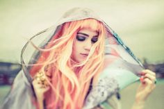 Claire Boucher aka Grimes...another pretty pixie with a lovely voice.