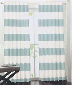 nautical stripe window curtains - best curtains 2017