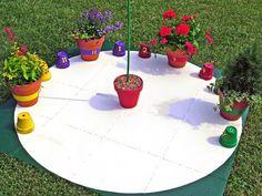 How to Make a Garden Sundial : Outdoors : Home & Garden Television