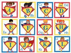 Preschool Printables: Superhero