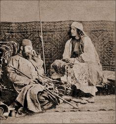 Turkish Scene (1857 CE Ottoman Caliphate) -William Morris Grundy (Photographer; 1806-1859 CE)
