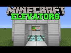 Minecraft: REAL ELEVATORS (SET UP EPIC ELEVATORS!) Mod Showcase so cool