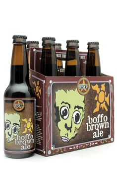 Dark Horse Brewery, Michigan.  Brown Boffo Ale