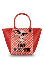 I love this Moschino handbag with my favorite cow<3