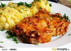 Krkovička po farářsku recept - TopRecepty.cz No Salt Recipes, Pork Recipes, Snack Recipes, Cooking Recipes, Slovak Recipes, Czech Recipes, Ethnic Recipes, Modern Food, Food 52