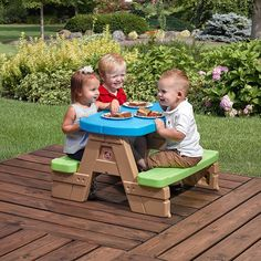 Step2 Sit & Play Picnic Table gifts for toddlers
