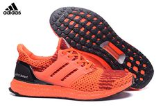 reputable site 2e545 022fb 2017 Men s Women s Adidas Ultra Boost Running Shoes Bright Orange Red Black,