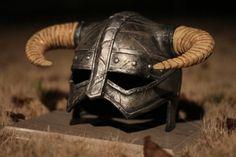 real Skyrim Dragonborn Helmet replica
