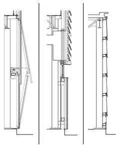 Wood Facade, Architect Magazine, Window Detail, Detailed Drawings, Architecture Details, Inspiration, Image, Boathouse, Rowing