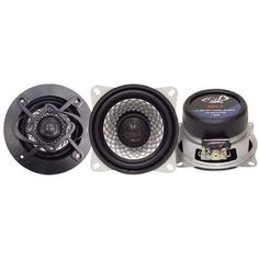 Heritage 4'' Two-Way Coaxial Speakers