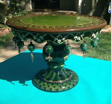Cake Stands Green Painted Furniturepainted