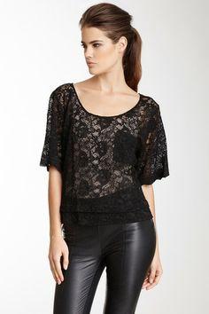 Kaelen Lace Tuck Shirt by Kaelen NYC on @HauteLook