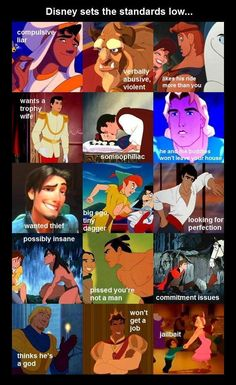 Disney Men. Ha.