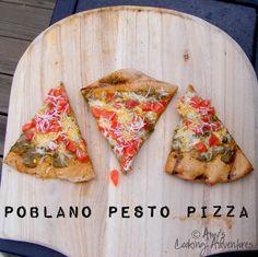 Poblano Pesto Pizza