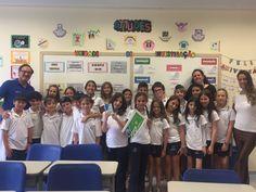 Na semana de Tu Bishvat, KKL Brasil visita a Escola Beit Yaacov e entrega sementes aos alunos.