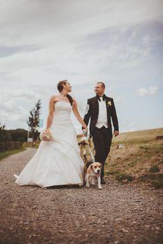hochzeit mit hund wedding with dog brautpaarshooting hochzeitsbilder