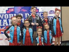 The kids of 'A Chance to Dance,' a dance organization for kids with special needs, compete at the World Dance Championship in New Jersey and receive the firs. Dance Dance Revolution, Firs, Special Needs Kids, Awards, World, Youtube, Movie Posters, Awesome, Videos