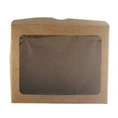 caixas visor papel doces