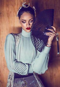 Rihanna Harper's Bazaar China Photo Spread 2