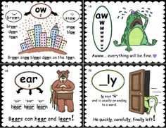 """PHONICS SKILL/HIGH FREQUENCY WORD CARDS""; 56 two-sided cards; received 4/4 stars from TpT; Instant Download ($20) or Physical card set ($55); Pre-K thru' 6th grade, Special Ed"
