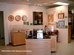 ©Manitoba Crafts Museum and Library Discover Canada, Craft Museum, Museum Collection, Needle And Thread, Liquor Cabinet, Storage, Crafts, Inspiration, Furniture