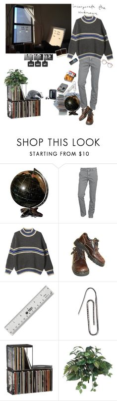 """""""."""" by surgeetage ❤ liked on Polyvore featuring Mason's, StyleNanda, CASSETTE, Dr. Martens, Nokia, Carrie K., Sony, CB2 and Peony"""