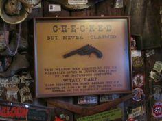 Red Dawg Saloon - AK  Unclaimed Gun   copyrighted 2014 Dark Woods Studios, Ltd. Co. dwoodstudio.com