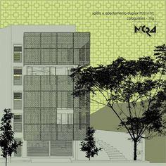 Projeto de salão e apartamento duplex _ _ _Arquitetura.Urbanismo.Mobiliário.Decoração