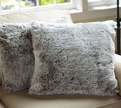Faux-Fur Gray Lynx Pillow Cover, from Pottery Barn. Shop more products from Pottery Barn on Wanelo. Pillow Room, Fur Pillow, Pillow Talk, Bed Throws, Throw Pillows, Throw Blankets, Animal Head Decor, Woodlands Cottage, Modern Outdoor Furniture