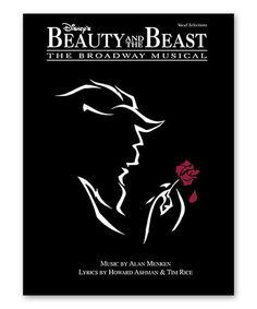 Beauty and the Beast Piano, Vocal & Guitar Songbook #zulily #zulilyfinds