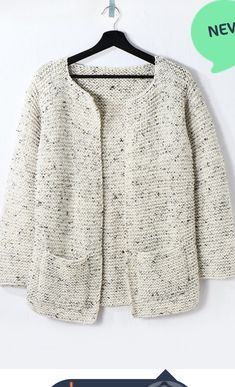 Giacca legaccio   La Maglia di Marica Ladies Cardigan Knitting Patterns, Knit Cardigan Pattern, Crochet Jacket, Baby Knitting Patterns, Knitting Designs, Knit Crochet, Knitting Stiches, Mohair Sweater, Knitting Accessories
